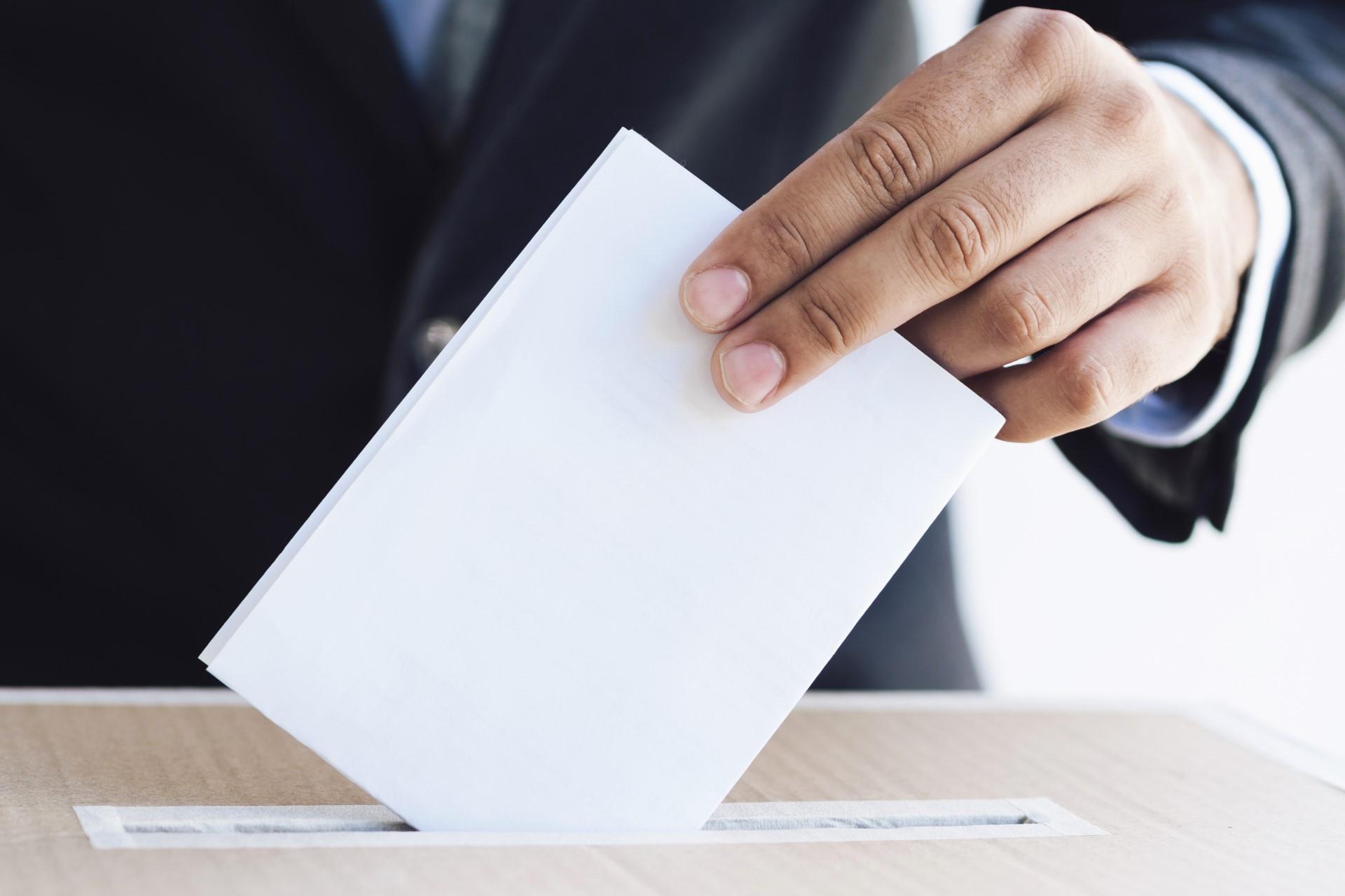 Argomento Procedura elettorale e voto